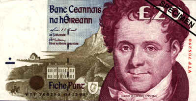 IRELAND CURRENCY (20 Pound)