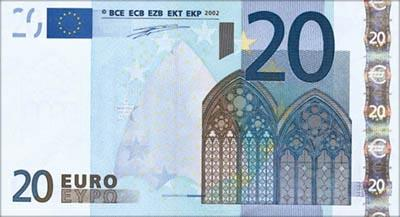 Euro 20 (Front)