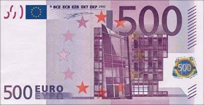 Euro 500 (Front)