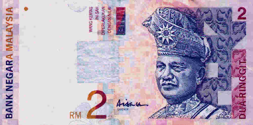 Two ringgit (RM2)